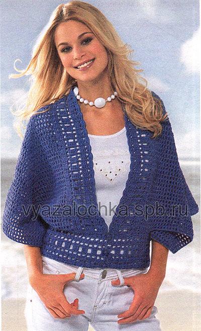 Схемы и выкройка пуловера