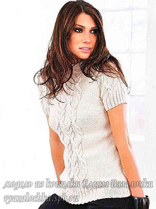 Пуловер спицами | Вязание спицами, крючком, схемы