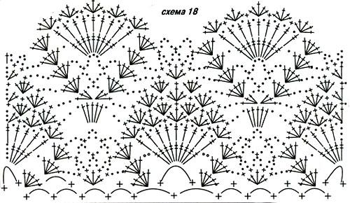 Схема вязания 18